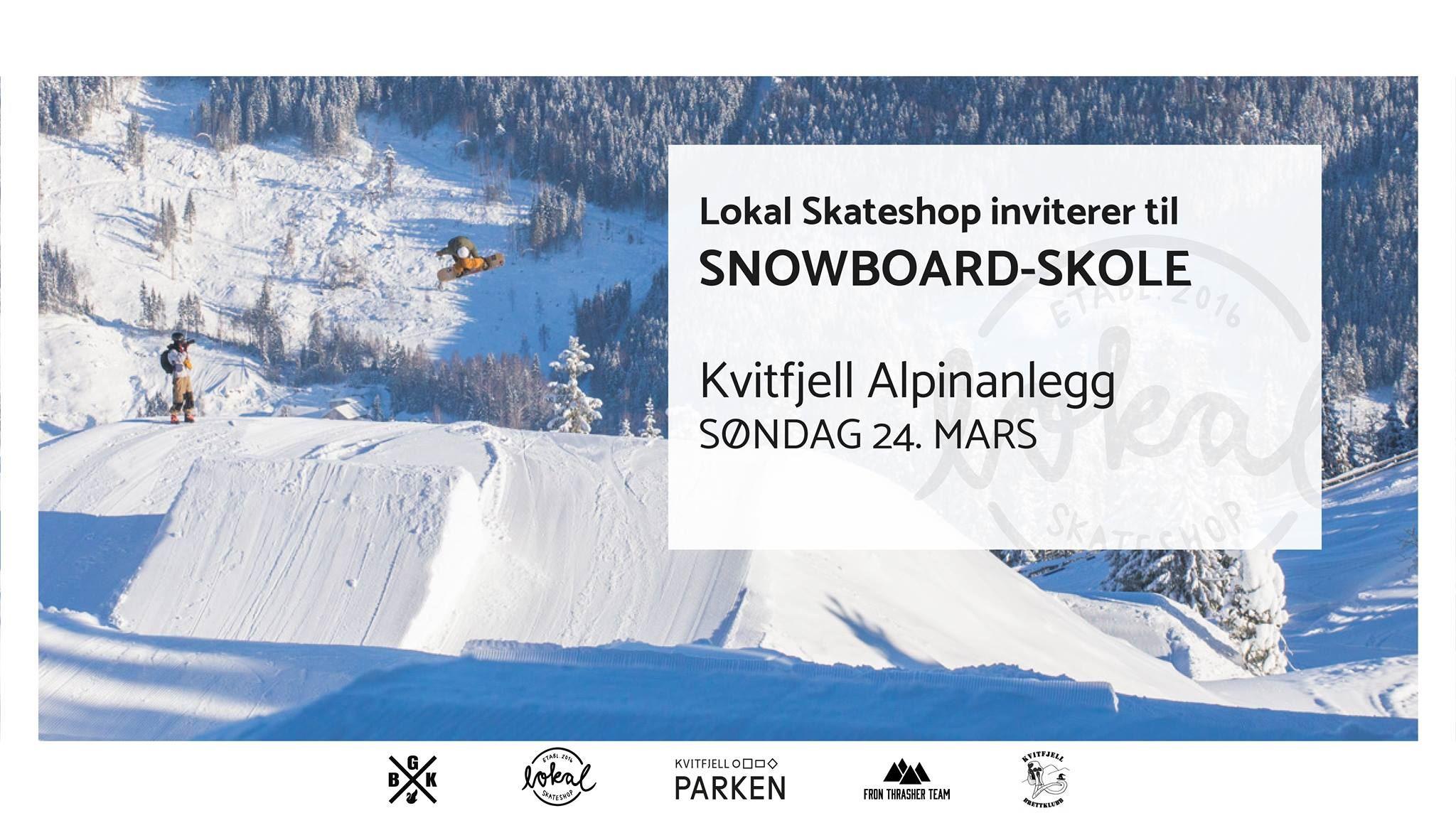 Snowboardskole i Kvitfjell