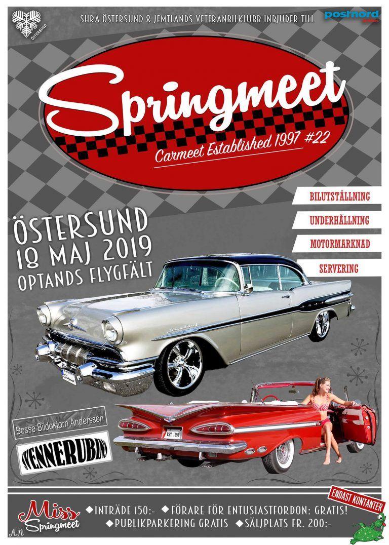 Foto: Springmeet,  © Copy: Springmeet, Affisch