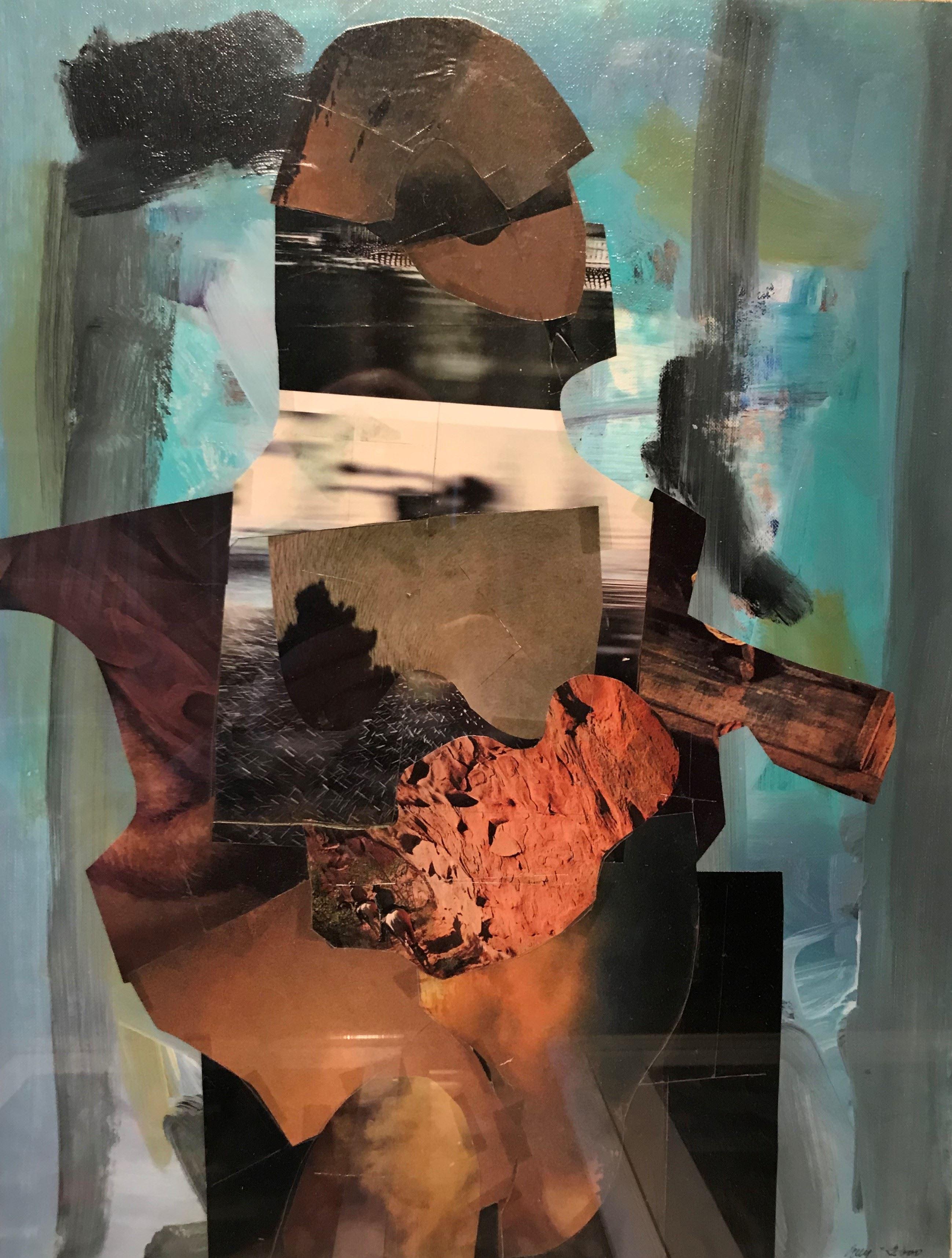 Konstutställning: Guy Frisks målningar