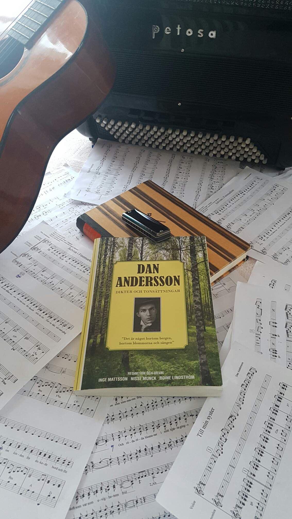 Musikkafé med Dan Andersson