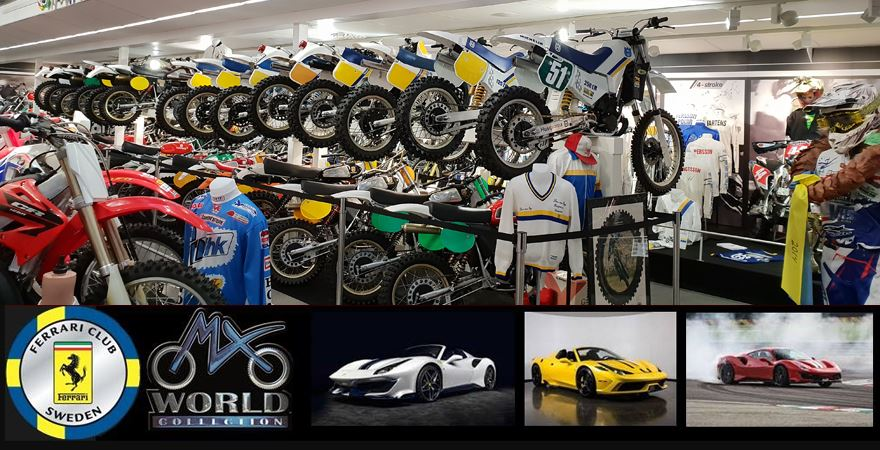 MX World Collection x Ferarri Club Sweden