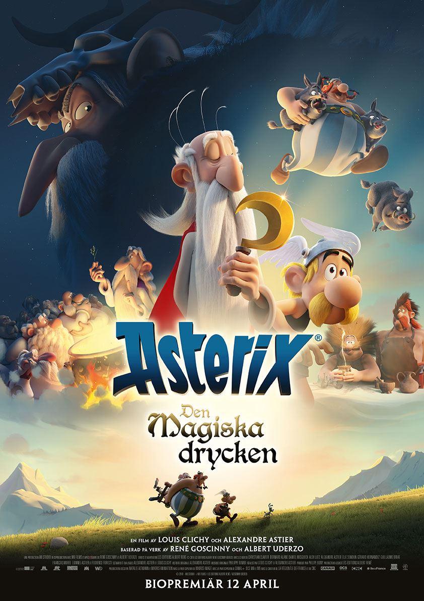 Påsklovsbio: Asterix - den magiska drycken