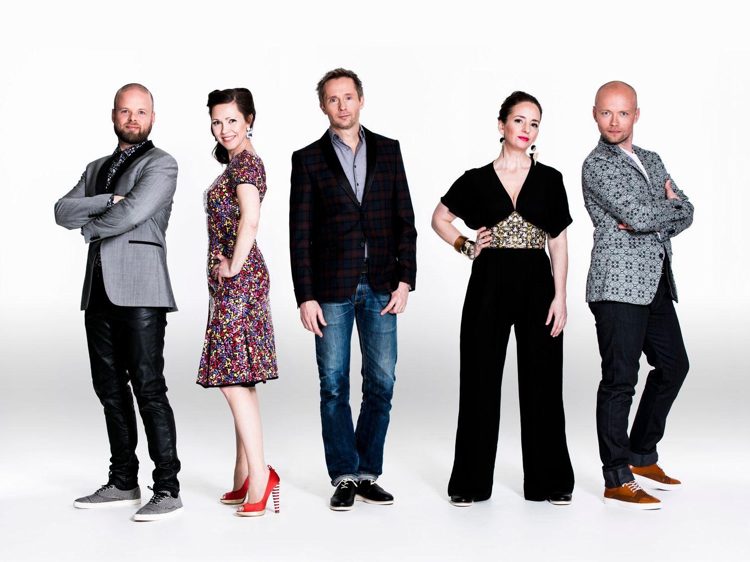 Musik: The real group - julkonsert