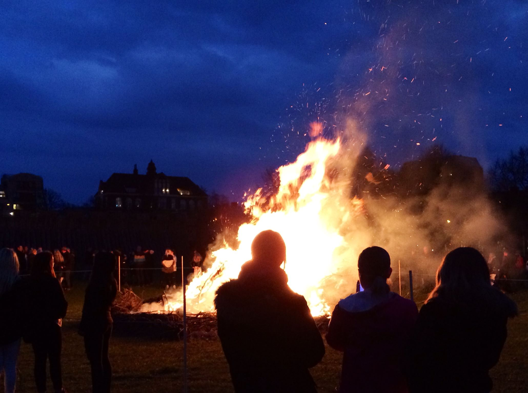 Linda Olofsson, Celebrate Valborg at the Viking fortress.