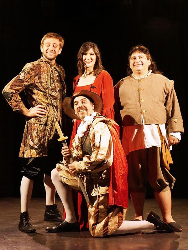 Festival de théâtre en Val de Luynes : Don Quichotte ou presque