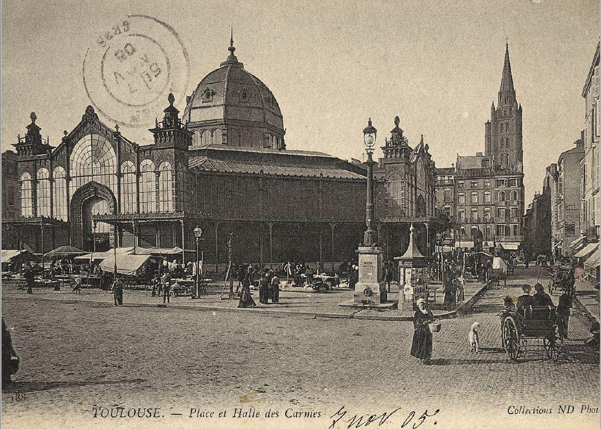 Germaine aime Toulouse - Du temps des Halles ...