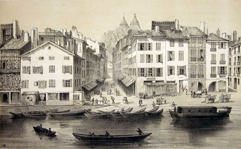 Bayonne au temps de Louis XIV