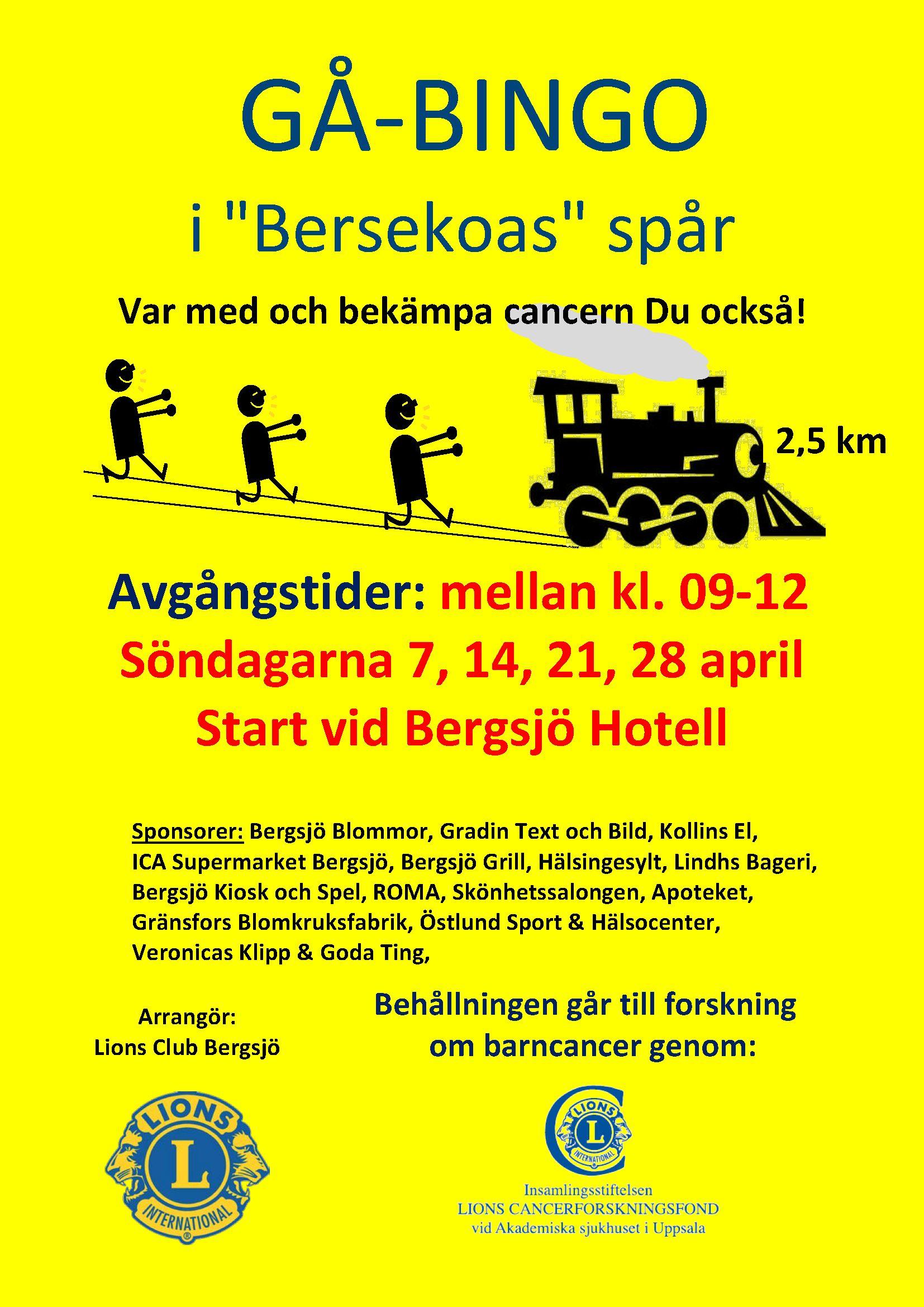 © gå-bingo, bergsjö, lions club, nordanstig, gå-bingo, bergsjö, lions club, nordanstig