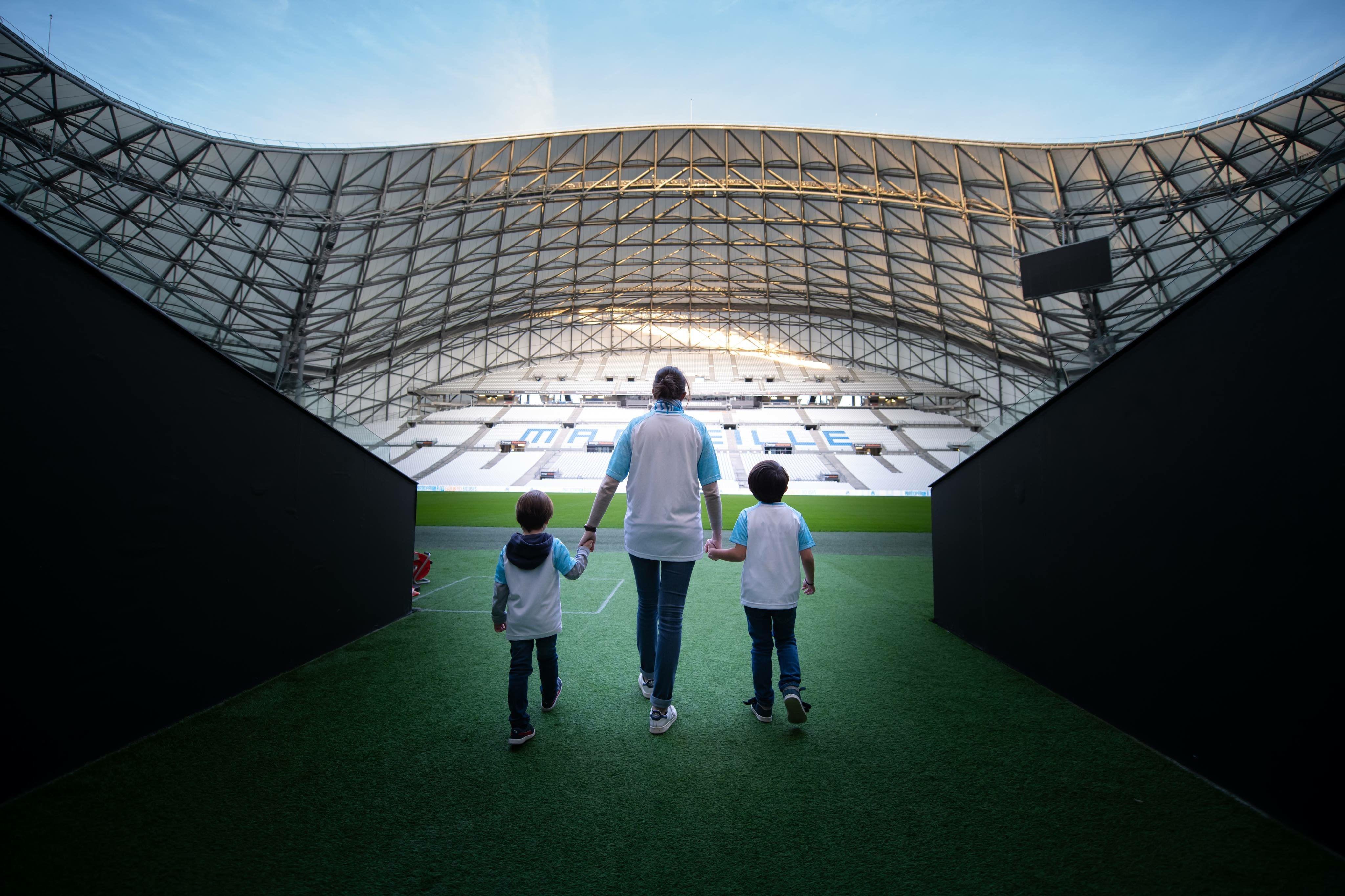 OM Tour - Visitez le stade Orange Vélodrome
