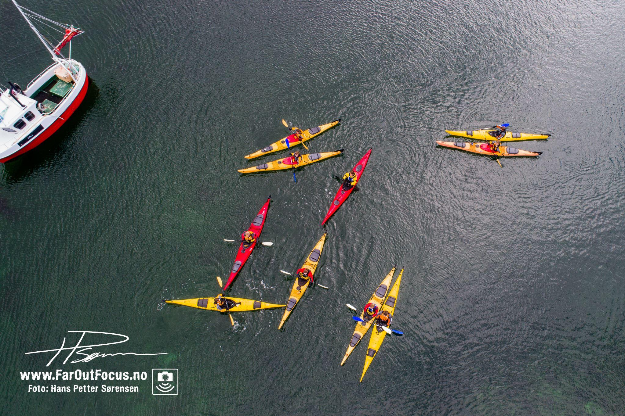 2 dagers tur i padleparadiset Helgeland og UNESCO øyriket Vega