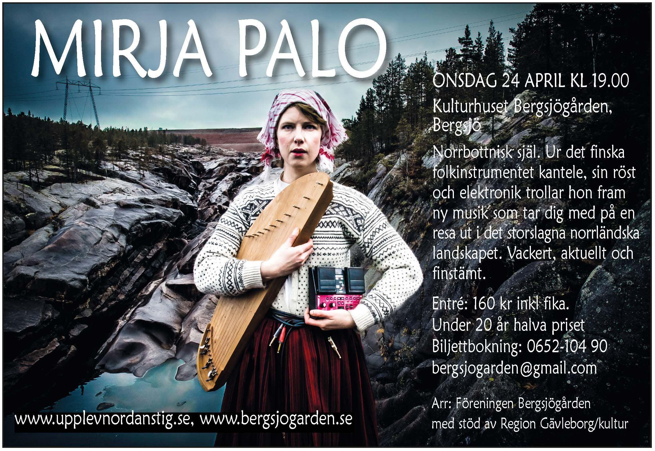 Konsert - Mirja Palo - Folkmix