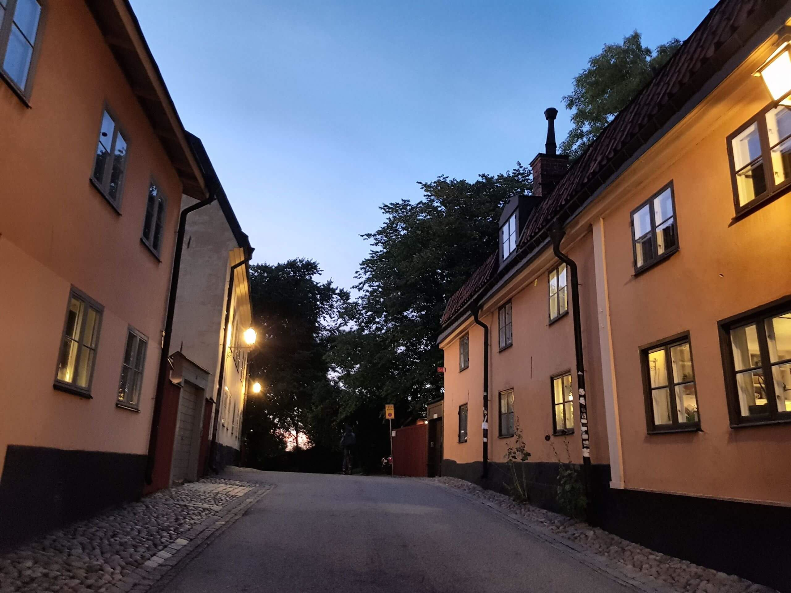 Houses and heights at Hornsgatan