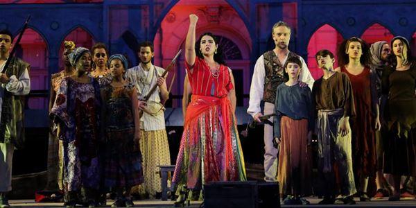 Opéra Tosca - Festival de Carcassonne