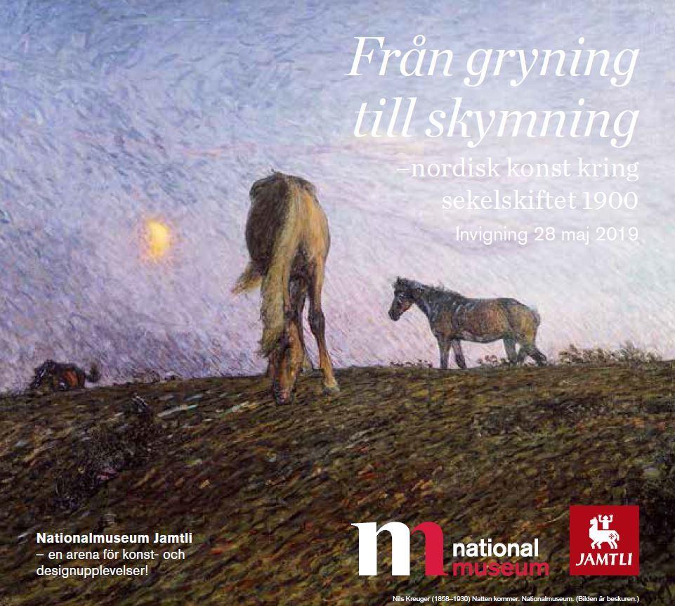 © Nationalmuseum Jamtli, affisch från gryning till skymning