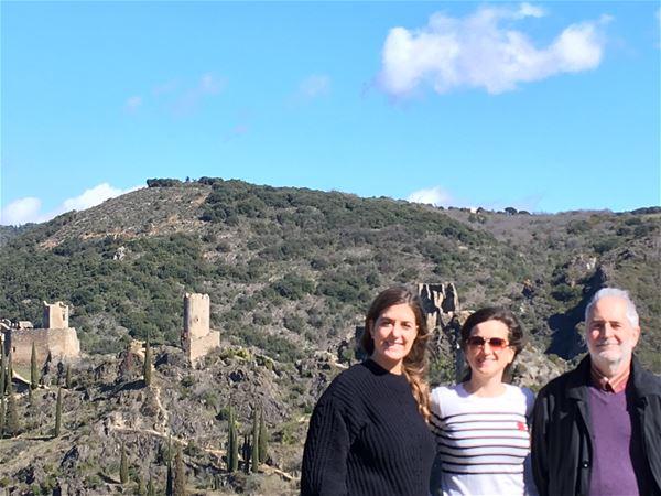 Excursion en minibus - Les quatre châteaux de Lastours - Suntour