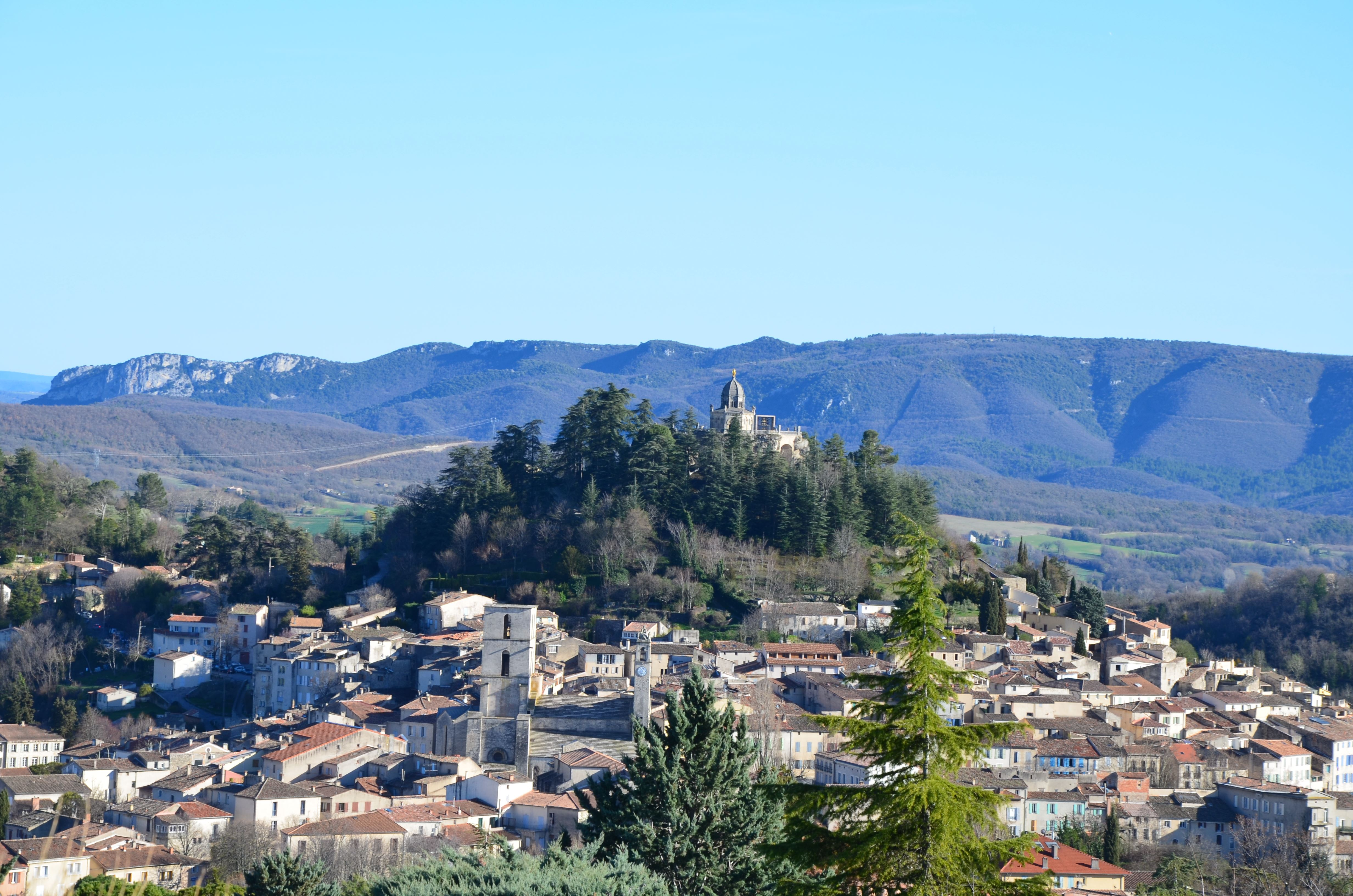 La Haute Provence: Forcalquier - Mane