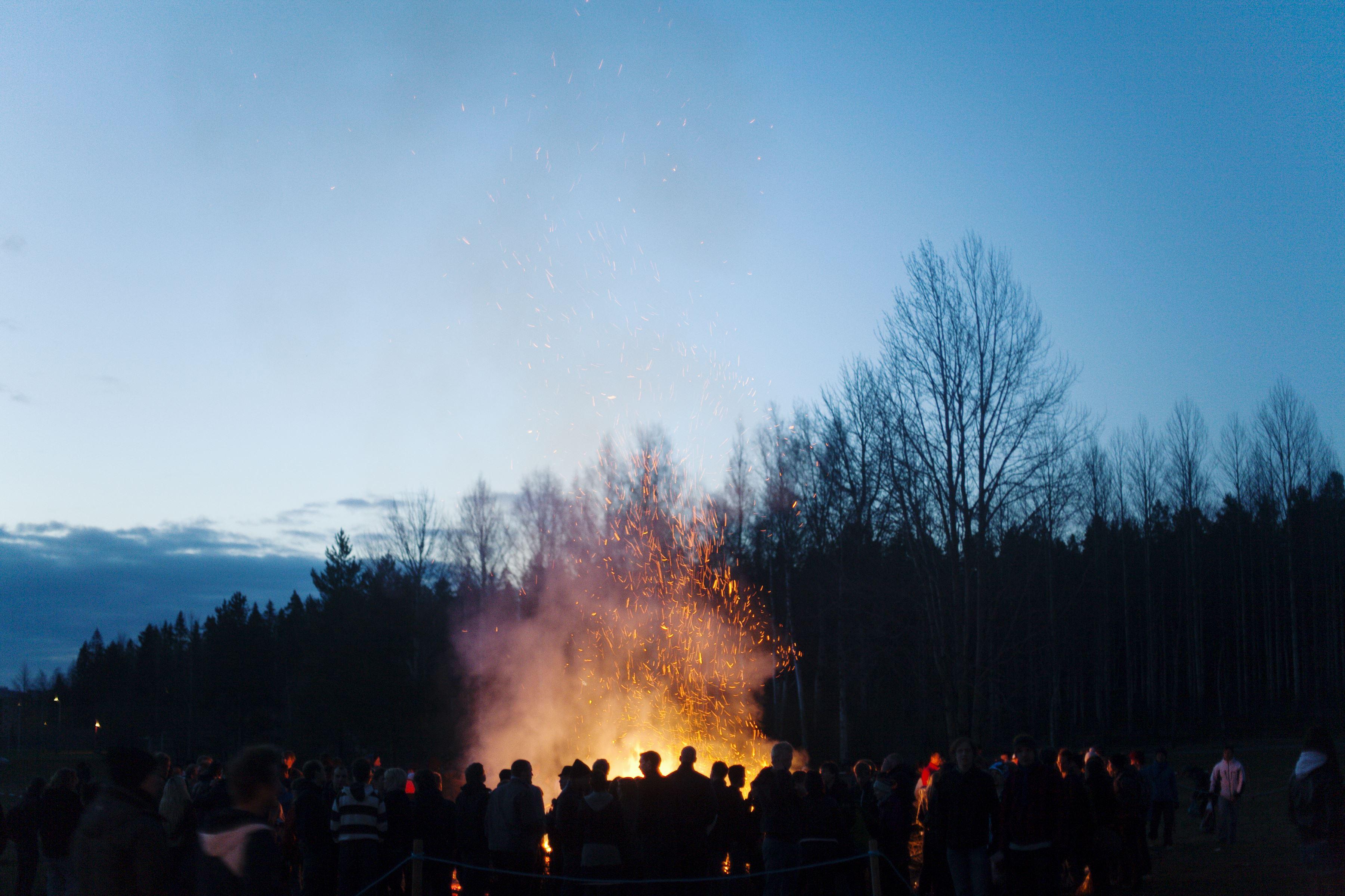 Valborgsfirande – Holje Park, Olofström