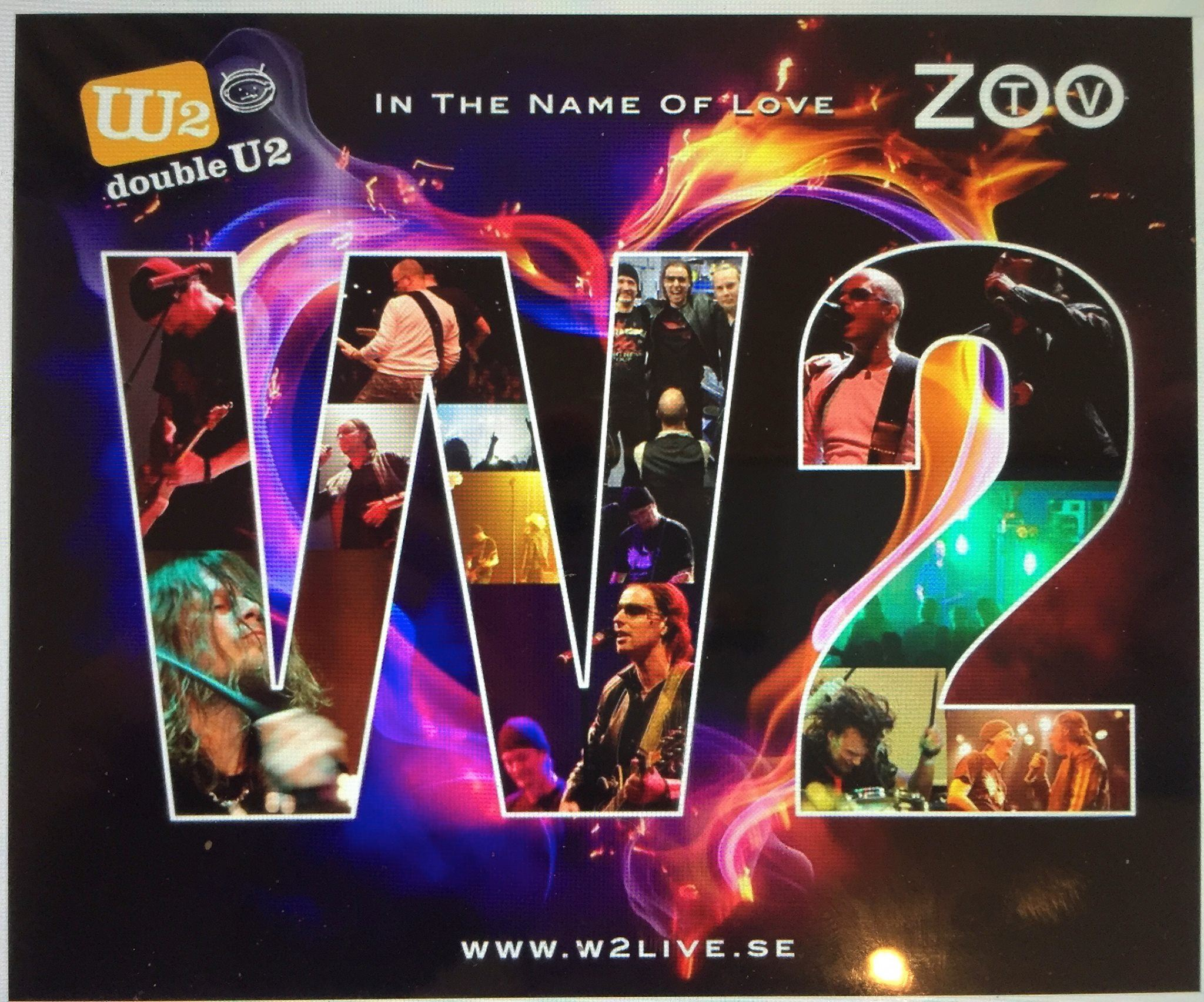 Konsert - U2 Tribute