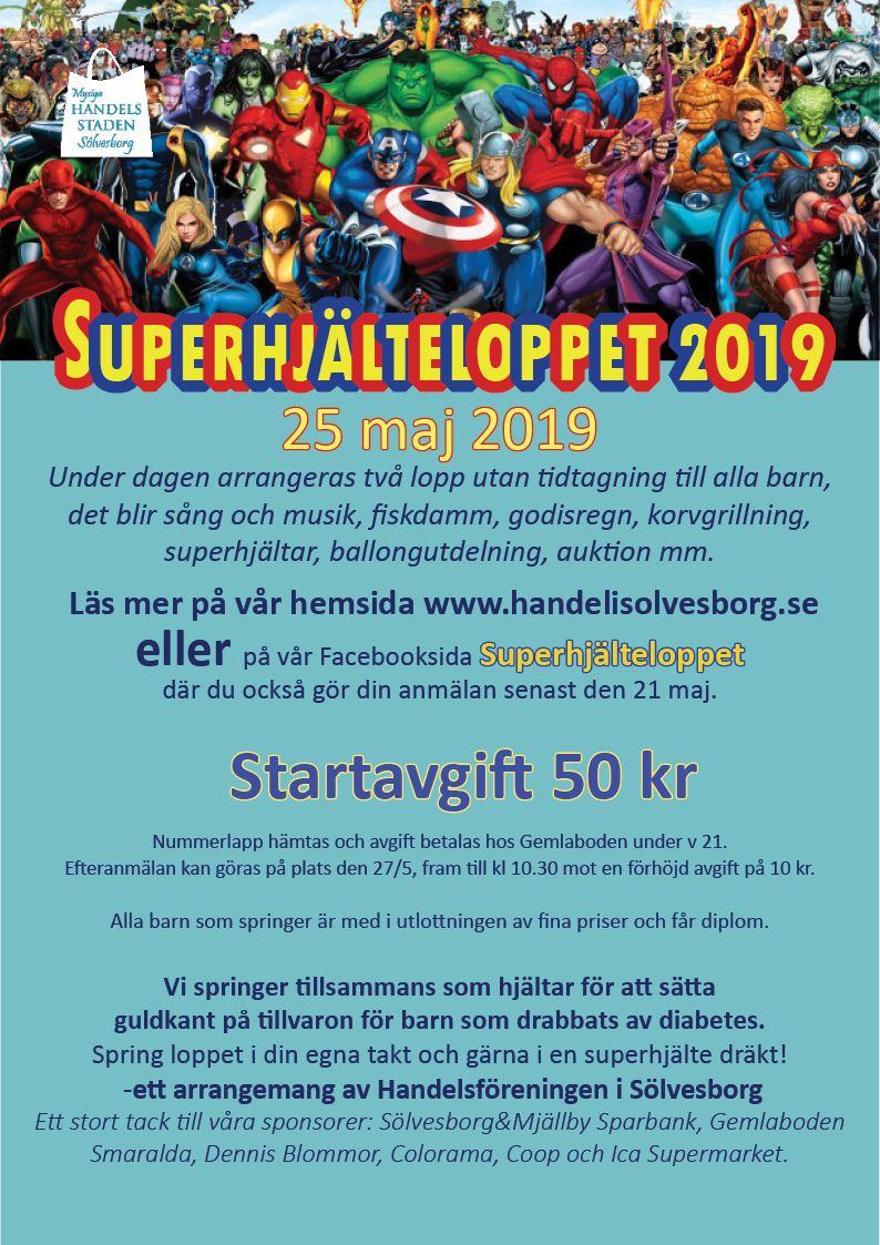Superhjälteloppet