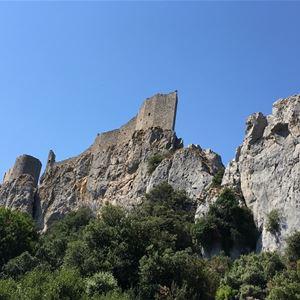 Excursion en minibus- Quéribus et Peyrepertuse - Les citadelles du Vertige - Suntour