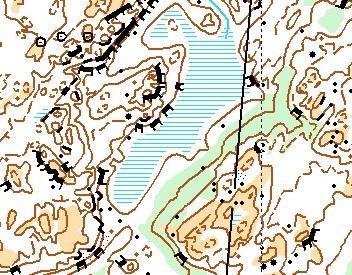 Träningskarta Glotternskogen (OL)