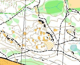 Träningskarta Borgsmo (OL)