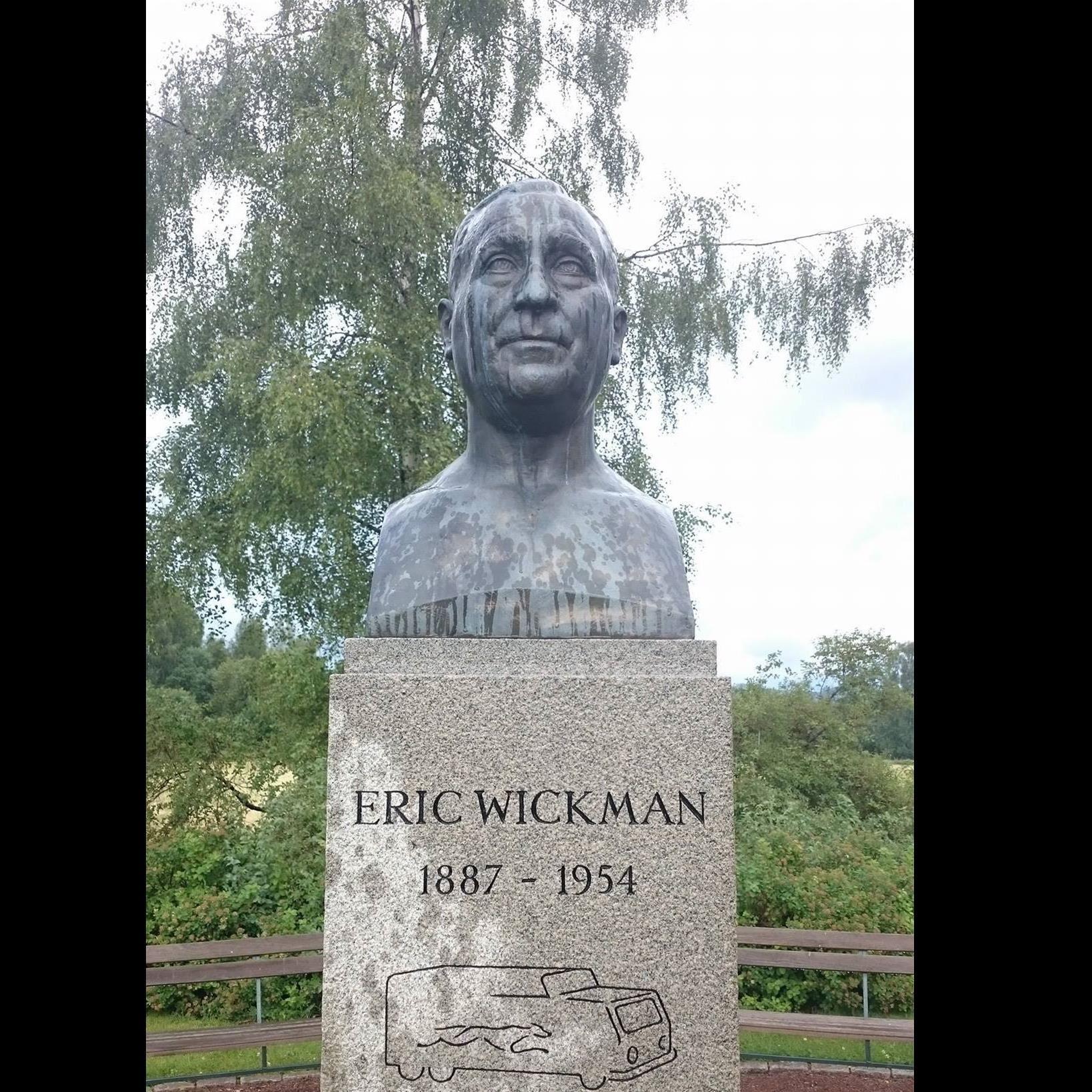 Föreläsning om Busskungen Erik Wickman