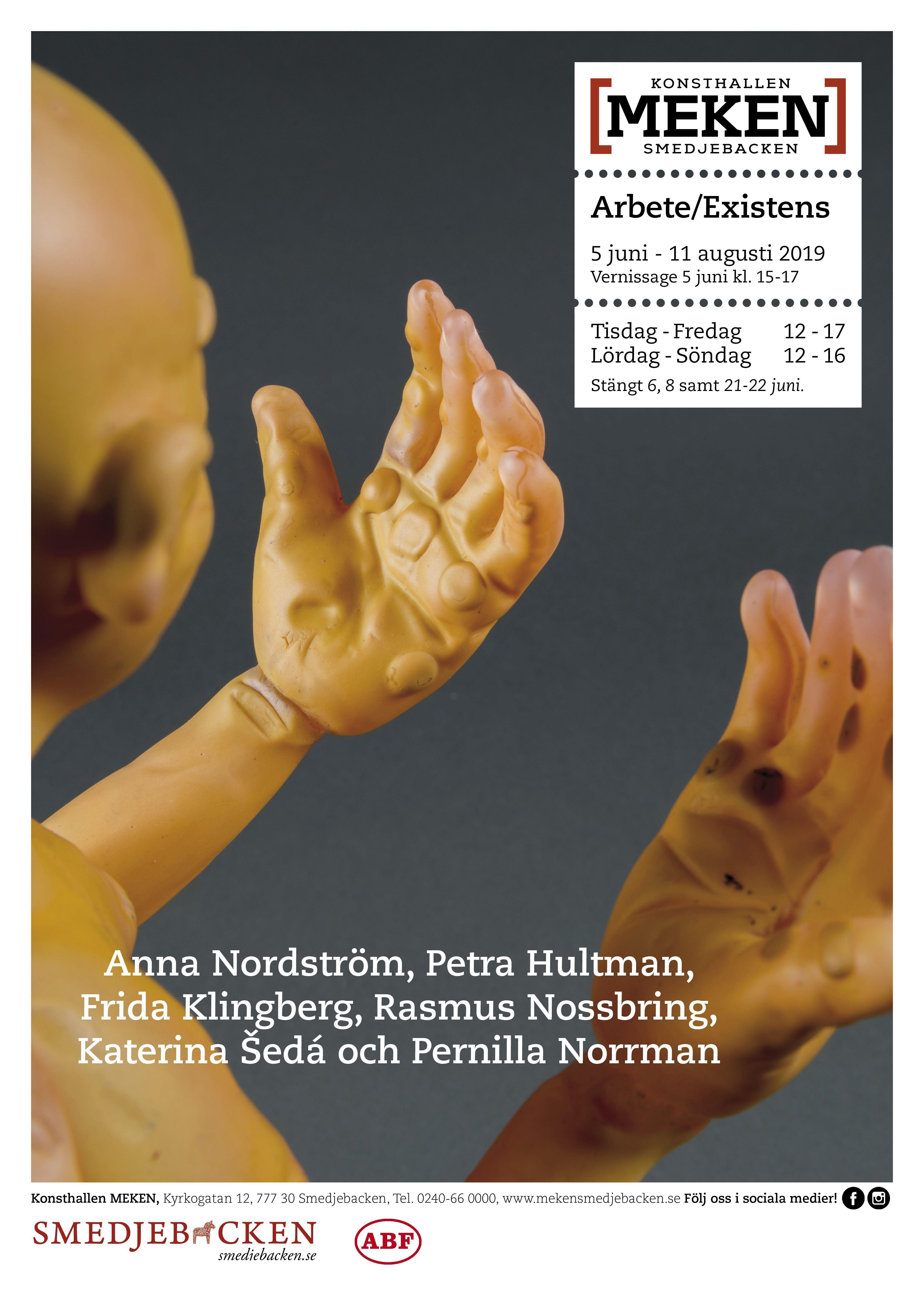 Vernissage Arbete/Existens - Konsthallen MEKEN