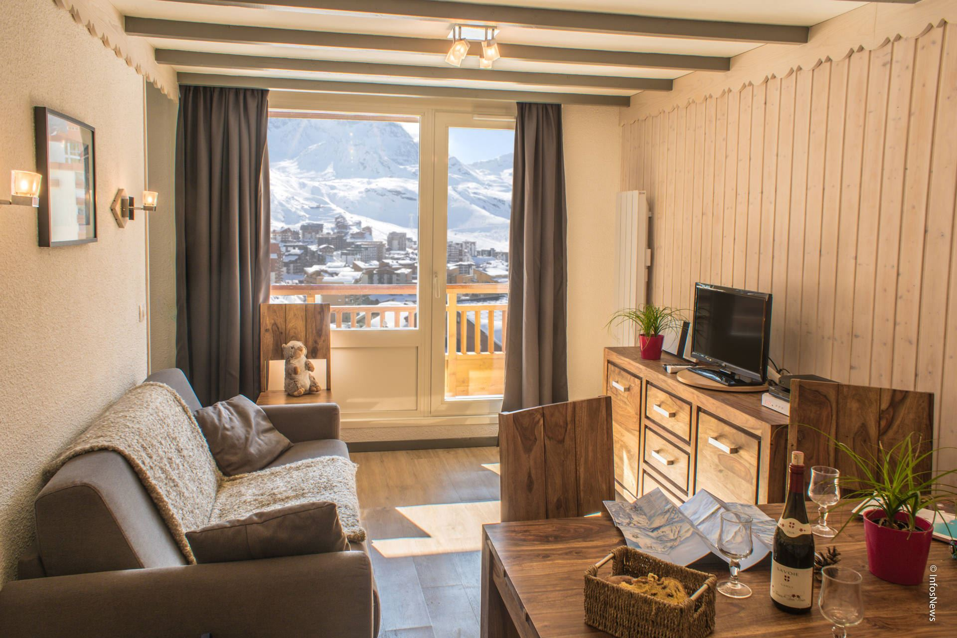 LAC BLANC 505 / 3 ROOMS 6 PERSONS - 4 GOLD SNOWFLAKES - VTI