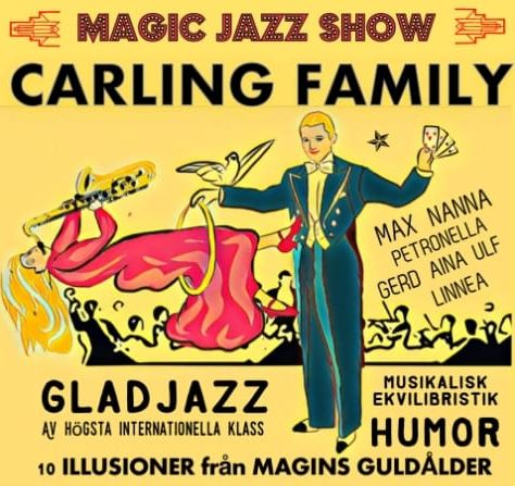 Magic jazz show med Carling Family