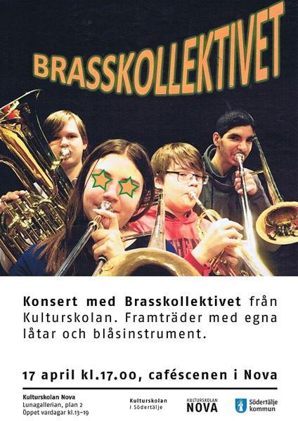 Konsert med Brasskollektivet.