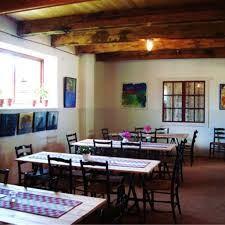 Konstutställning i Gammelstilla café