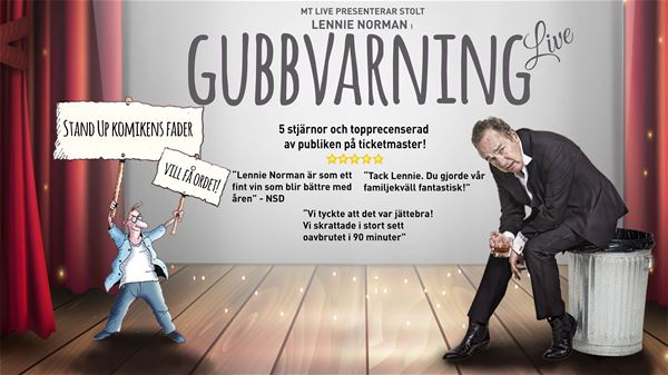 Lennie Norman - Gubbvarning Live
