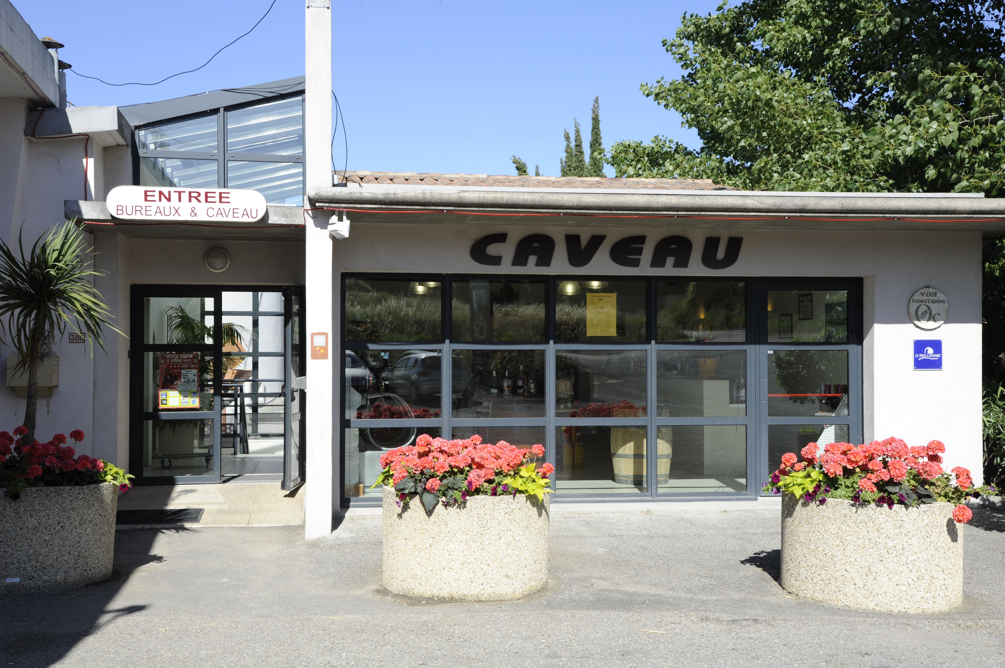 Tasting 3 wines + view on unloading platform and tanks - 1h - F / GB / ESP / I - Vignobles de Carsac