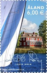 Stamp issue celebrations by Åland Post