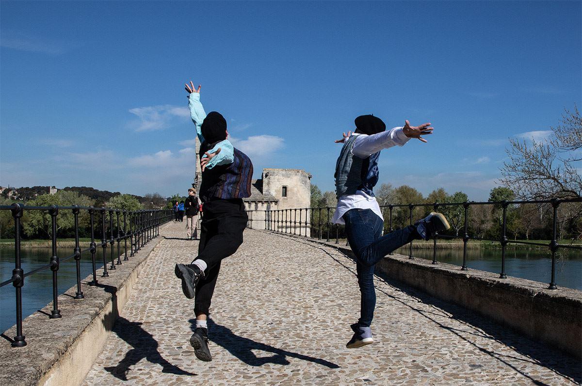 Visite théâtralisée: Le Pont d'Avignon: toute une histoire !