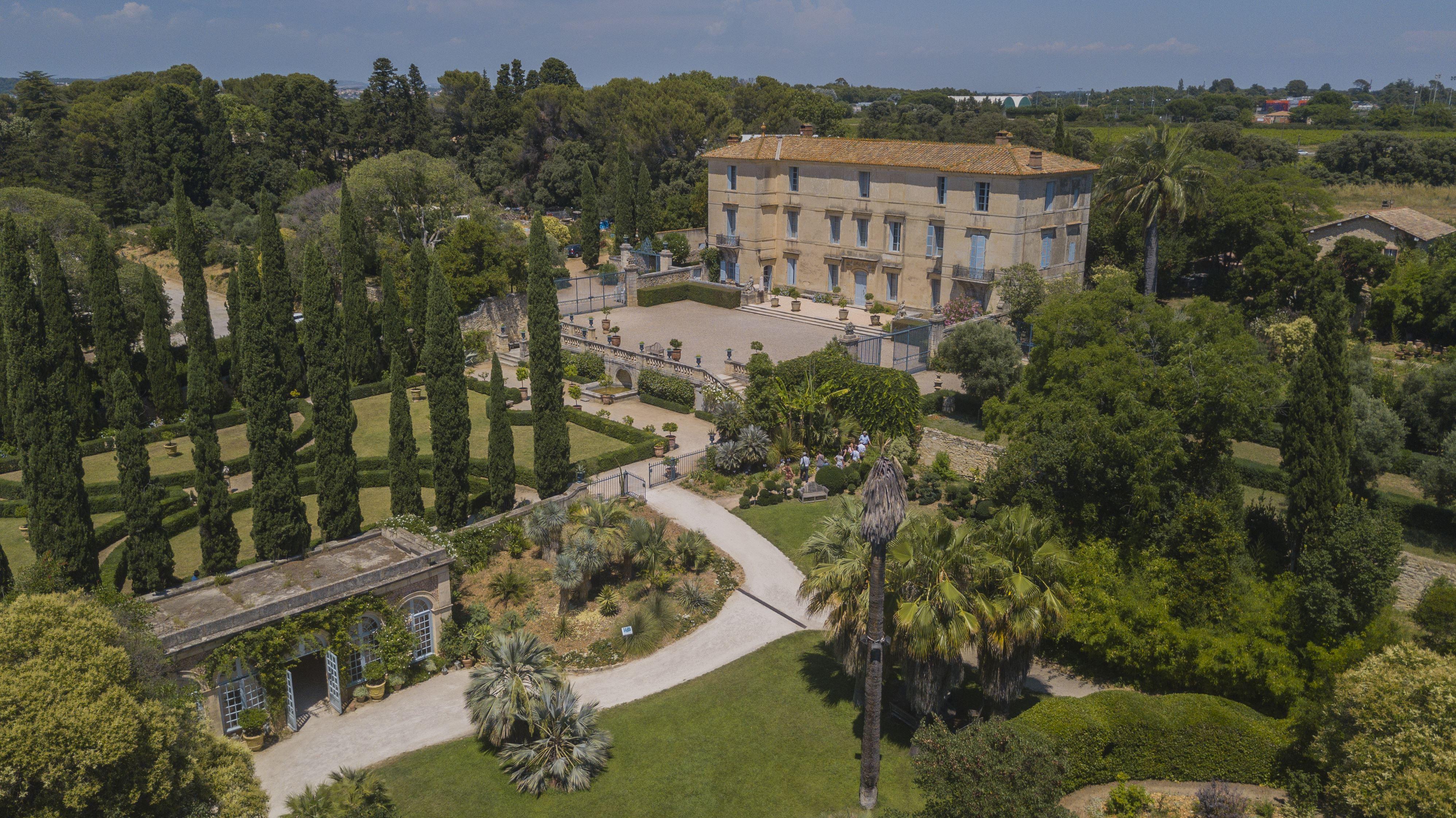 Flâneries aux Jardins du Château de Flaugergues