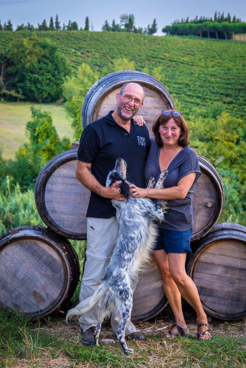 Dégustation de vins - Domaine Rose et Paul