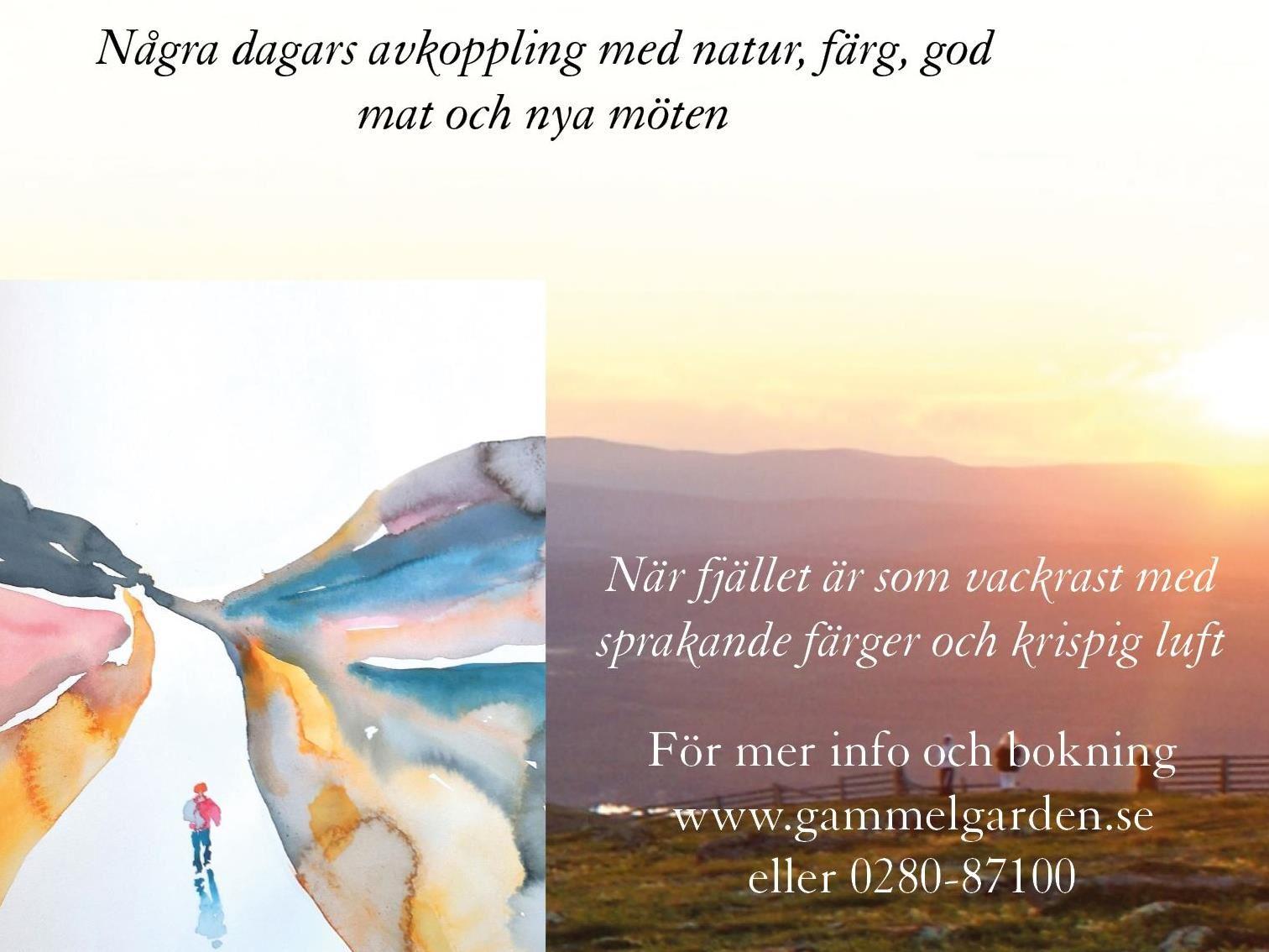 Kreativ Mindfulness på fjället 1-4 september - Gammelgården - Sälen
