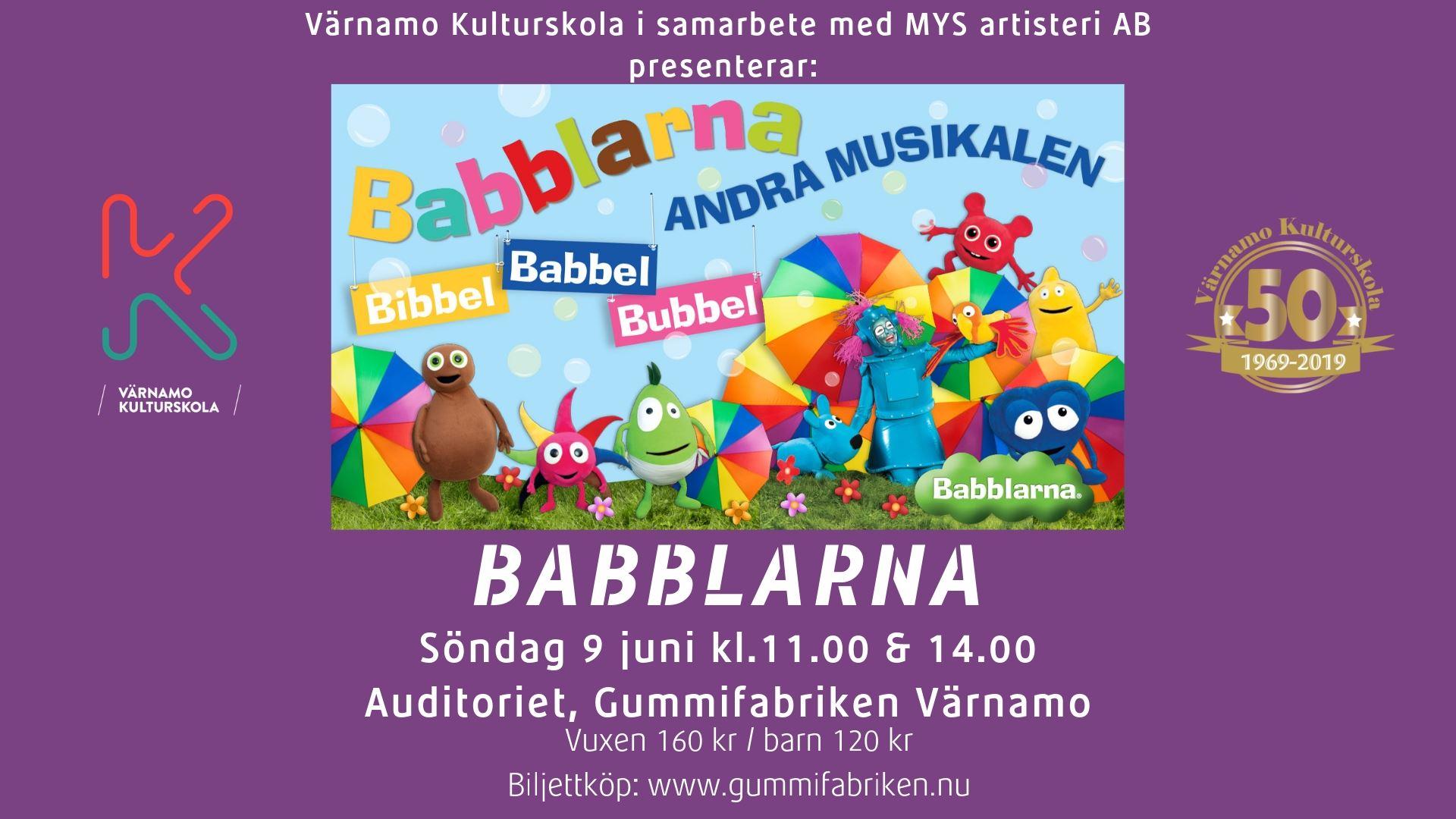 BABBLARNA - ANDRA MUSIKALEN