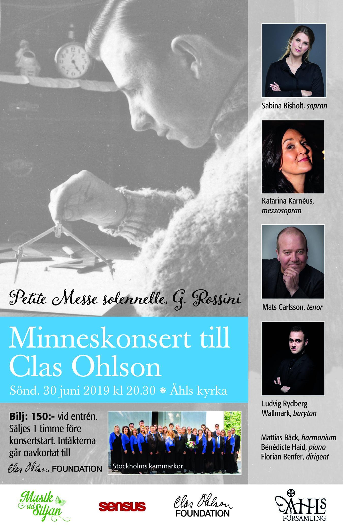 Musik vid Siljan - Minneskonsert till Clas Ohlson