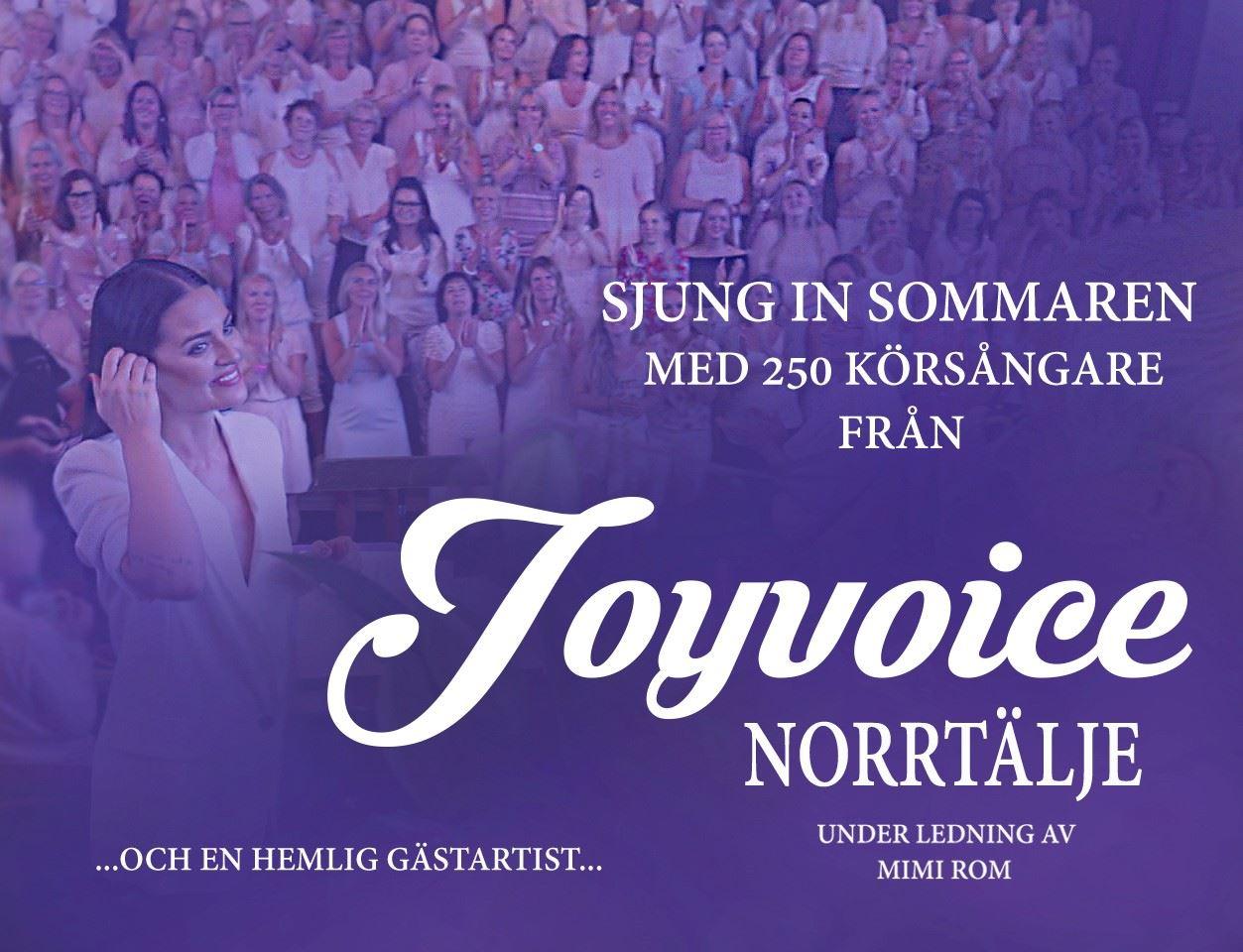 Sommarkonsert med Joyvoice Norrtälje