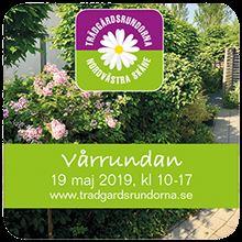 Trädgårdsföreningens hemsida, Vårrundan i Nordvästra Skåne