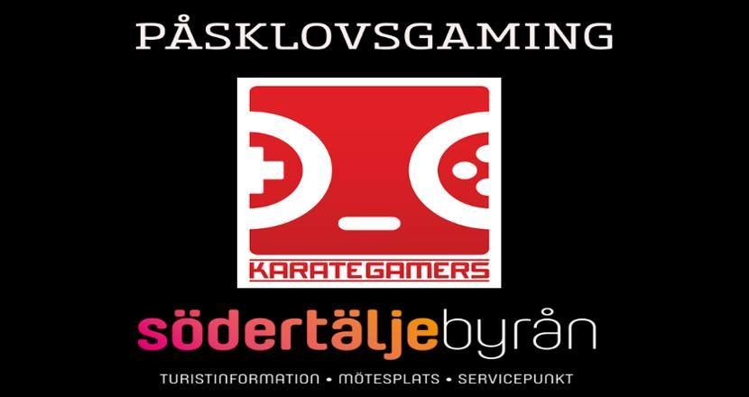 Karategamers på Södertäljebyrån