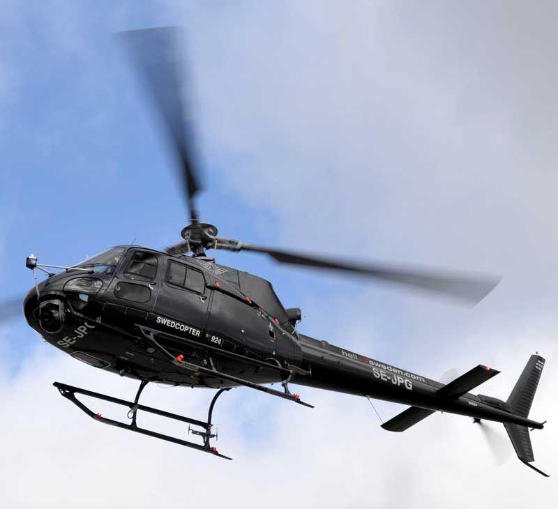 Helikopter, rundflygning