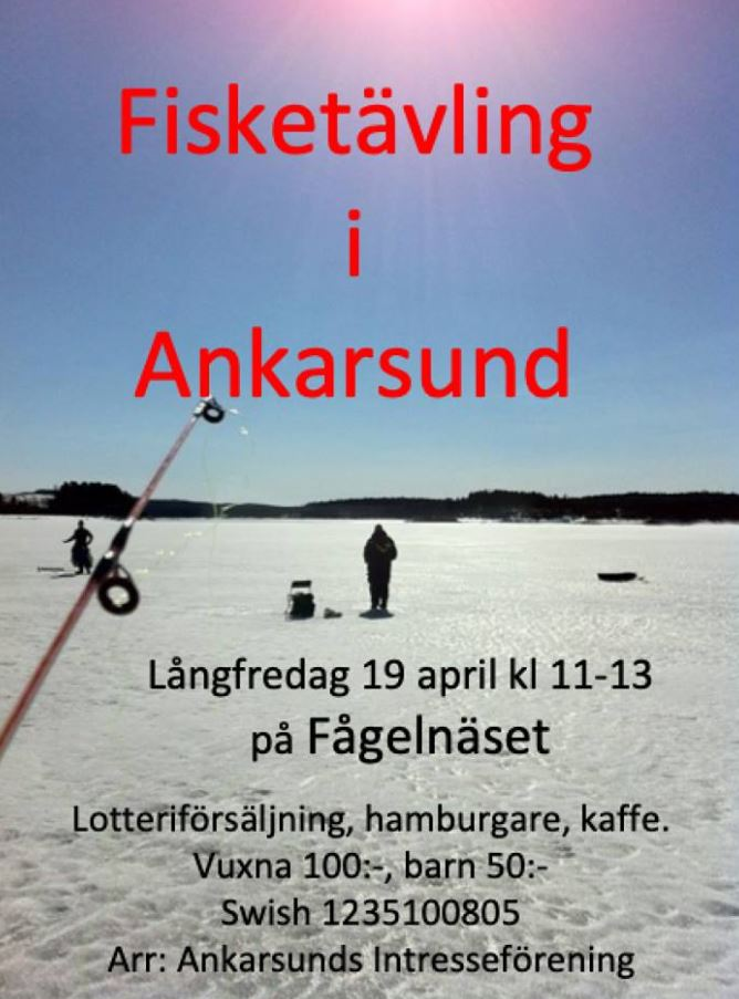 Fisketävling i Ankarsund