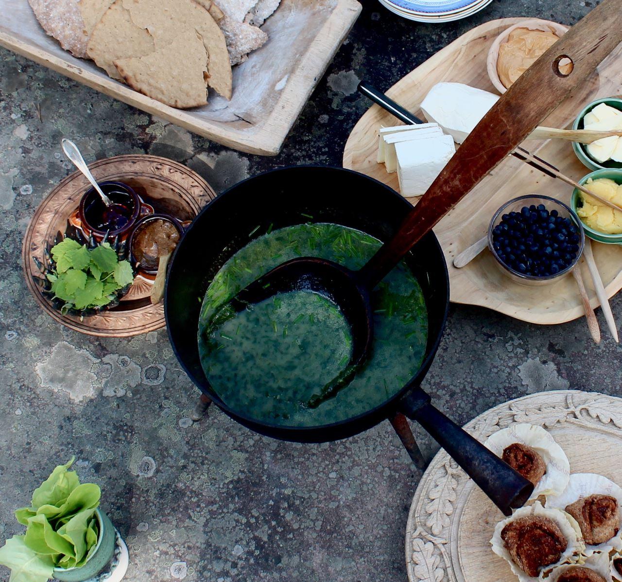 Gårdsguidning och Fäbodfrukost