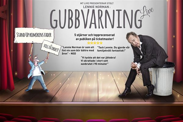 Lennie Norman – Gubbvarning Live!
