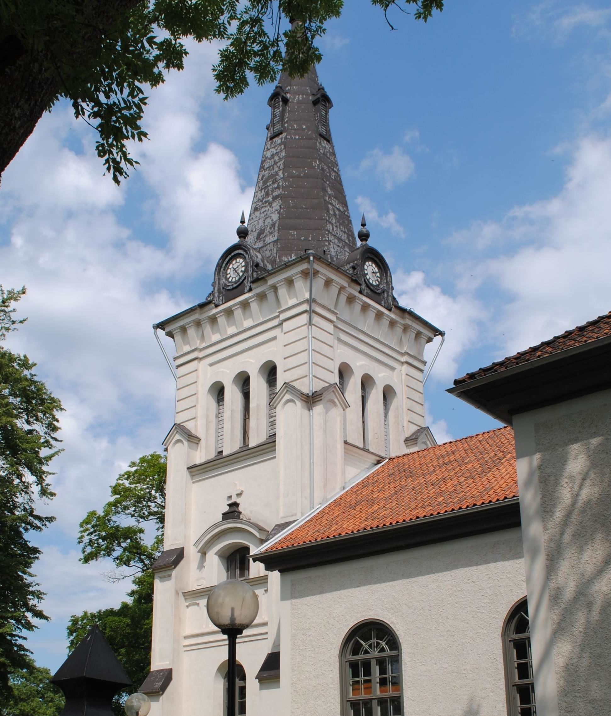 Musik i sommarkväll i Fliseryds kyrka