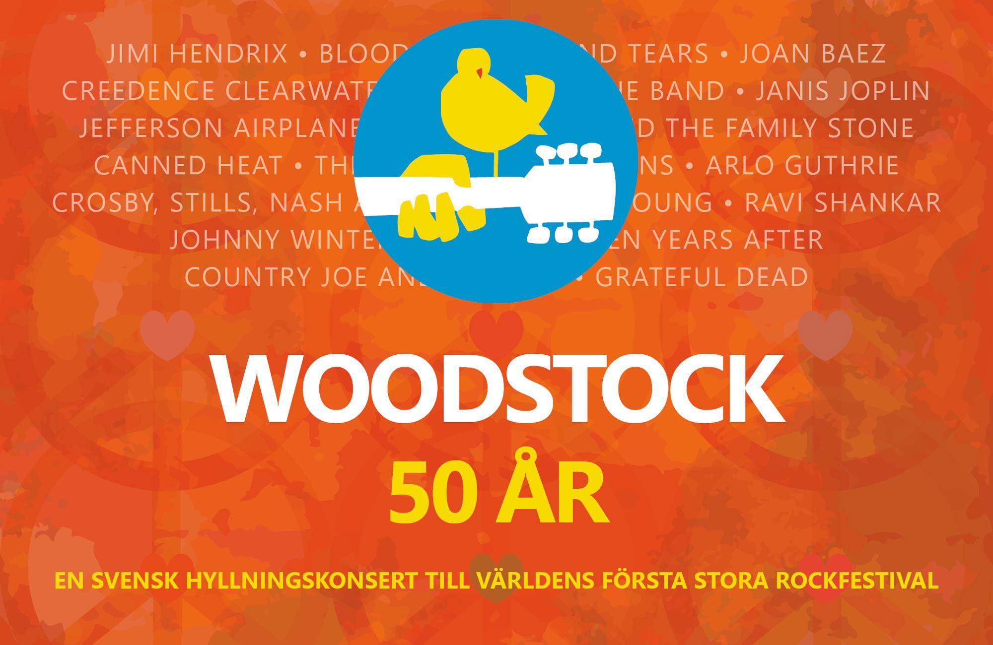 WOODSTOCK 50ÅR